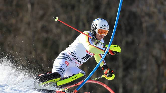 Linus Straßer gehört im Slalom zum Favoritenkreis