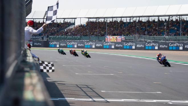 Das Rennen der Motorrad-WM in Silverstone wurde abgesagt