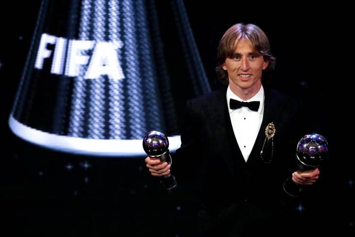 """Luka Modric von Real Madrid ist der neue """"Best FIFA Men's Player"""" - oder auch der neue Weltfußballer. Der Kroate setzte sich ..."""