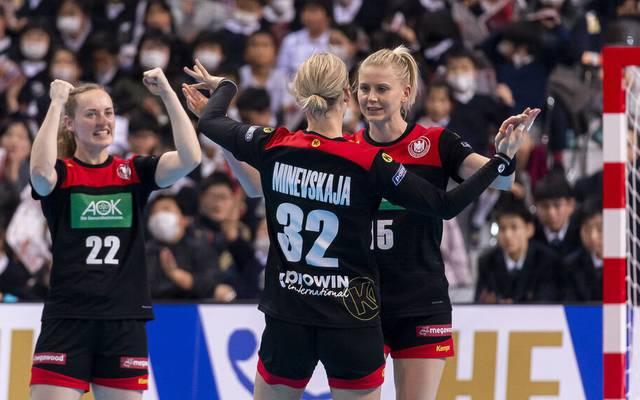 Die deutschen Handball-Frauen verpassten bei der WM das Olympia-Ticket