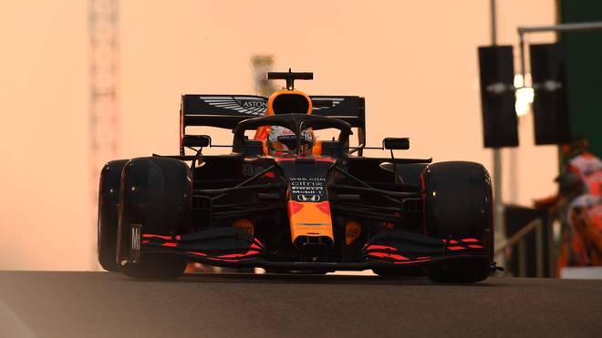 Max Verstappen startet in Abu Dhabi von der Pole Position