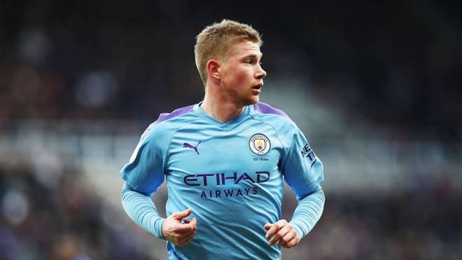Kevin de Bruyne und Manchester City liegen elf Punkte hinter der Tabellenspitze