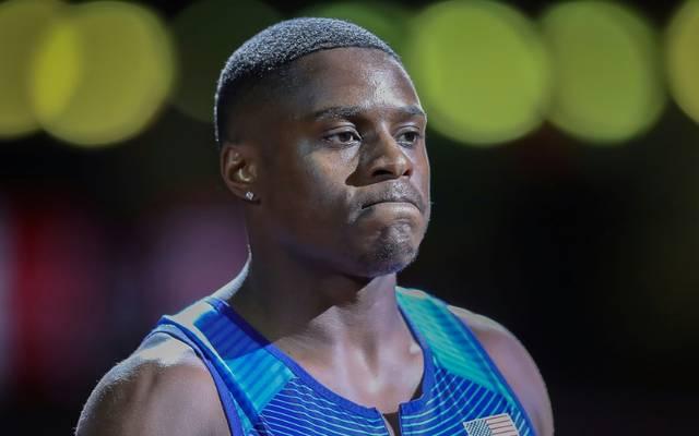 Coleman darf nicht bei den Olympischen Spielen starten