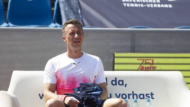 Philipp Kohlschreiber ist schon ausgeschieden bei den BMW Open in München