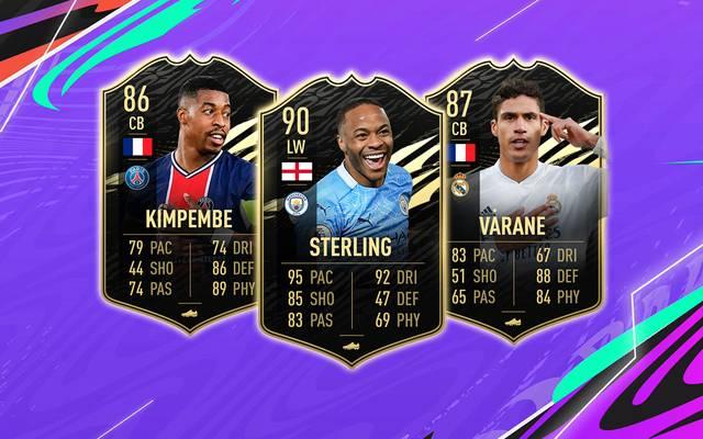 Das FIFA 21 Team der Woche #20 mit Kimpembe, Sterling und Varane