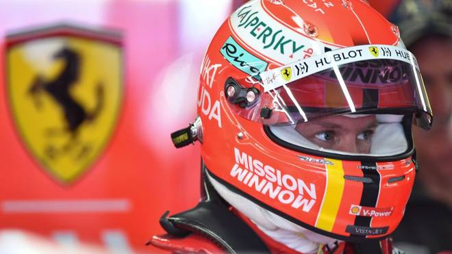 Sebastian Vettel fordert mehr Gestaltungsfreiheit für das Helmdesign
