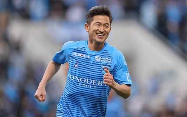 Miura läuft seit 2005 für den FC Yokohama auf