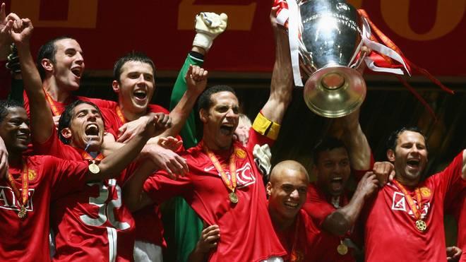 2008 war Rio Ferdinand Manchesters Kapitän im gewonnenen Champions-League-Finale