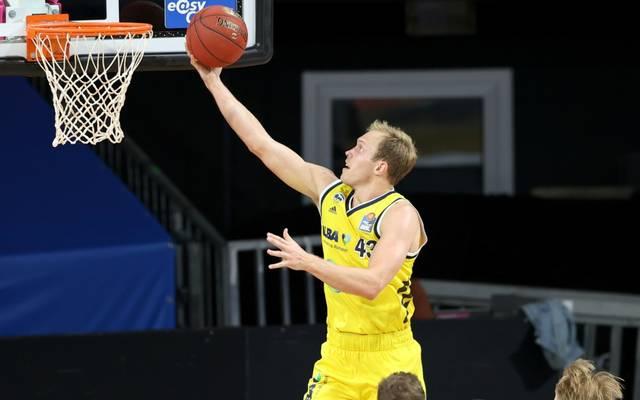 Luke Sikma war mit 16 Punkten Topscorer bei ALBA Berlin