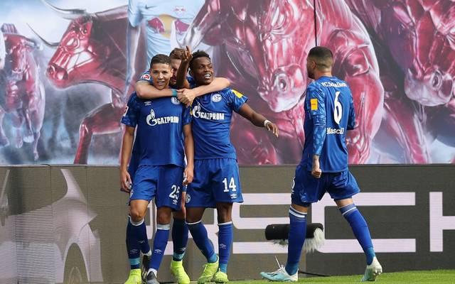 Schalke schlägt RB Leipzig mit 3:1