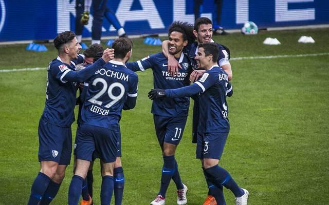 Der VfL Bochum fährt einen knappen Sieg ein