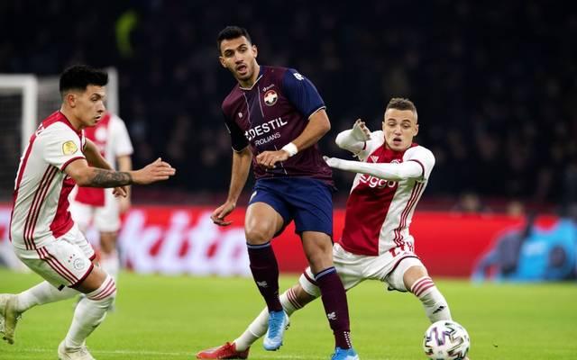 Willem II brachte Ajax Amsterdam die erste Saisonniederlage bei