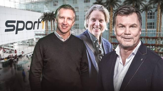 Frank Baumann und Jan Age Fjörtoft sind am Sonntag zu Gast bei Thomas Helmer im CHECK24 Doppelpass