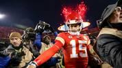 Patrick Mahomes war 2018 mit 50 Touchdown-Pässen der MVP der NFL