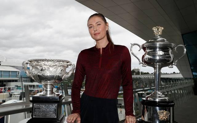 Maria Sharapova gewann in ihrer Karriere fünf Grand-Slam-Titel