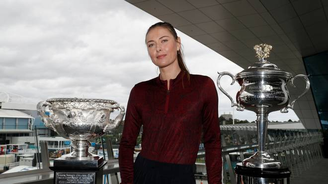 Maria Sharapova gewann in ihrer Karriere fünf Grand-Slam-Titel