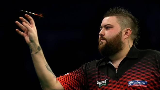 Michael Smith steht beim World Matchplay im Halbfinale