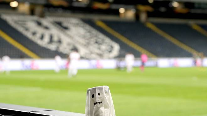 Für Eintracht Frankfurt ist es das zweite Geisterspiel in der Commerzbank-Arena