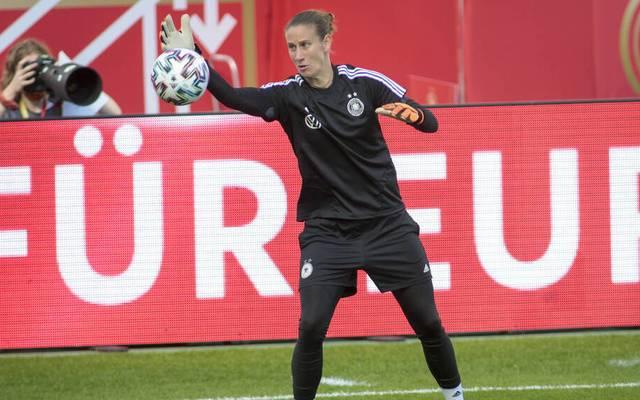 Am heutigen Dienstag gibt Ann-Katrin Berger ihr Debüt in der Nationalmannschaft