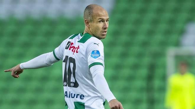 Arjen Robben steht Groningen wieder nicht zur Verfügung
