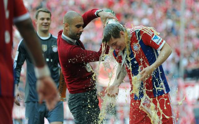 Toni Kroos (r.) hat Pep Guardiola in höchsten Tönen gelobt