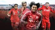 Joshua Zirkzee, Oliver Batista-Meier, Leon Dajaku und Sarpreet Singh (im Bild) trainieren jetzt dauerhaft mit der ersten Mannschaft. SPORT1 stellt Bayerns größte Talente vor