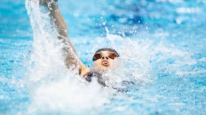 Franziska gewinnt die Deutsche Meisterschaft auf der Kurzbahn in zwei Disziplinen