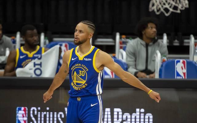 Warriors-Superstar Stephen Curry lief gegen die Orlando Magic heiß