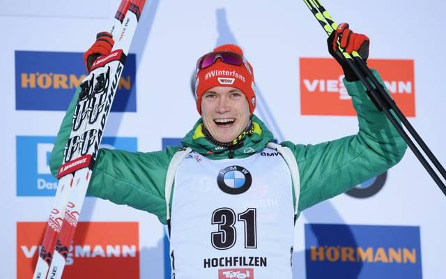 Benedikt Doll gehört zu den deutschen Stars im Biathlon