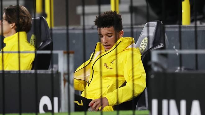 Jadon Sancho hat bei Borussia Dortmund noch einen Vertrag bis 2022