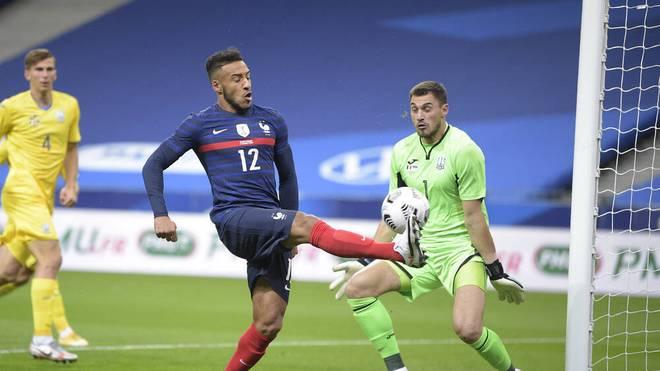 Corentin Tolisso traf für Frankreich zum 5:1