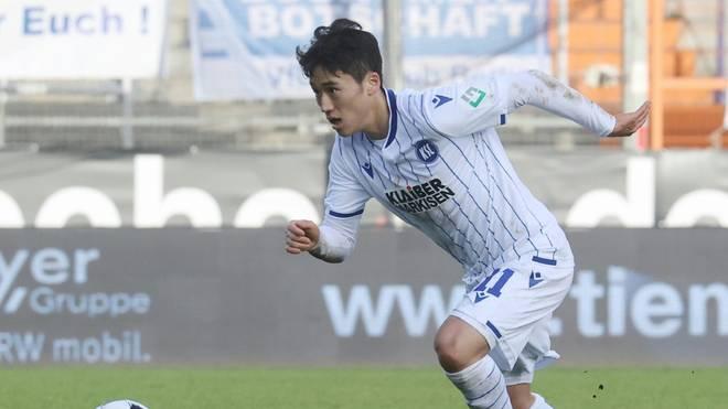 Kyoung-Rok Choi verlängert beim KSC bis 2023