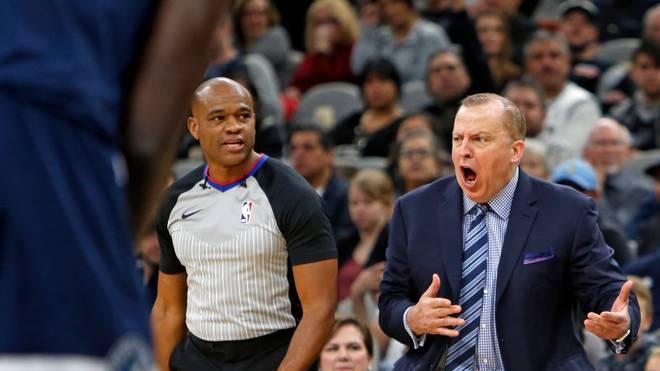 Tom Thibodeau ist der neue Trainer der New York Knicks