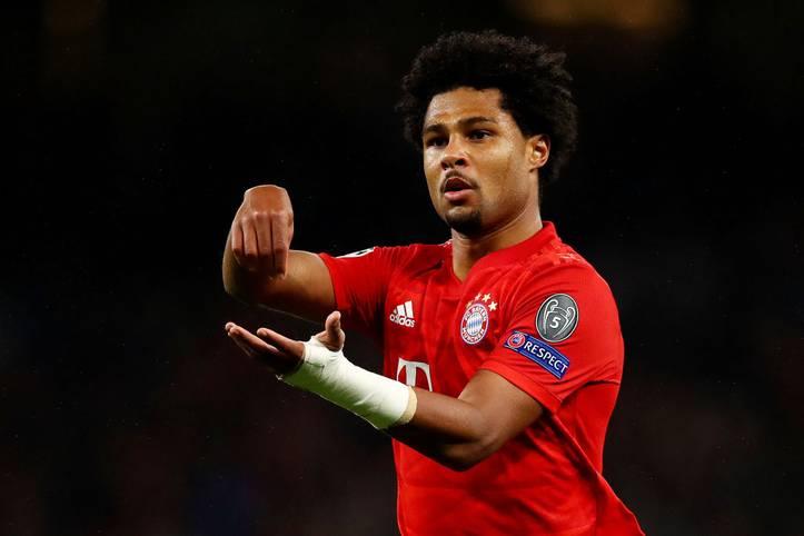 Serge Gnabry rührt wieder! Gegen Tottenham traf der deutsche Nationalspieler vierfach und feierte mit seinem ihm eigenen Torjubel - doch was steckt dahinter?