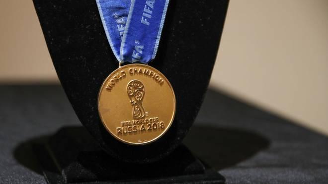 Diese Medaille eines französischen Weltmeisters wurde versteigert