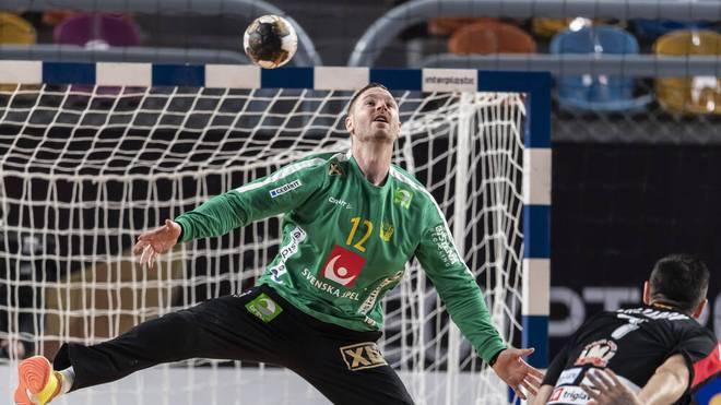 Andreas Palicka von den Rhein-Neckar Löwen ist Schwedens großer Rückhalt