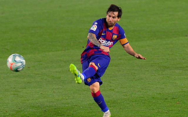 Lionel Messi spielt mit dem FC Barcelona bei Celta Vigo