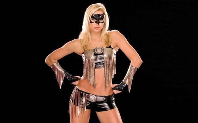 """Stacy Keibler trat bei WWE für kurze Zeit als """"Super Stacy"""" auf"""