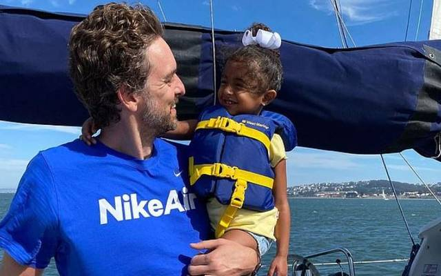 Pau Gasol kümmert sich rührend um die Kinder seiner verstorbenen Teamkollegen Kobe Bryant