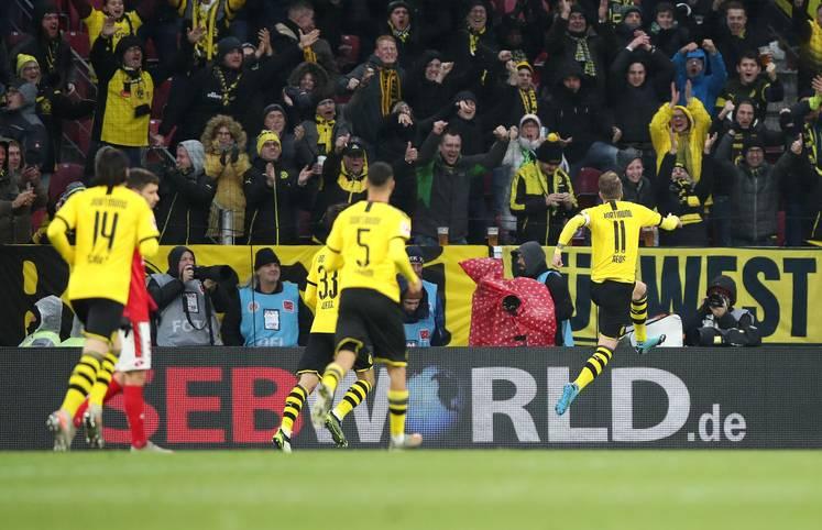Marco Reus brachte Borussia Dortmund am Wochenende beim FSV Mainz auf Kurs. Der Kapitän traf in der 32. Minute zum 1:0 und brachte den BVB-Express ins Rollen. Beim Abpfiff hieß es 4:0 für die Schwarz-Gelben