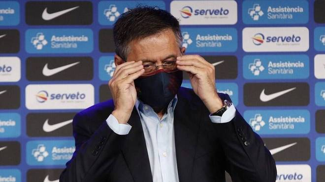 Barca-Präsident Josep Maria Bartomeu durchlebt mit dem Klub schwere Zeiten