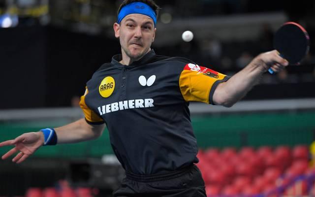 Timo Boll zog bei den German Open ins Achtelfinale ein