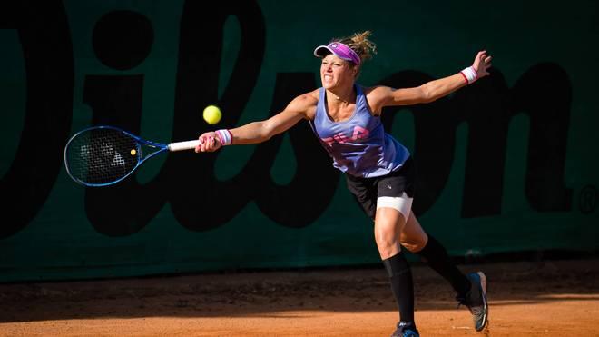 Laura Siegemund setzte sich bei ihrem ersten Match in Palermo durch
