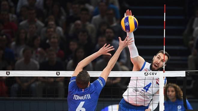 Serbien steht im Finale der Volleyball-EM