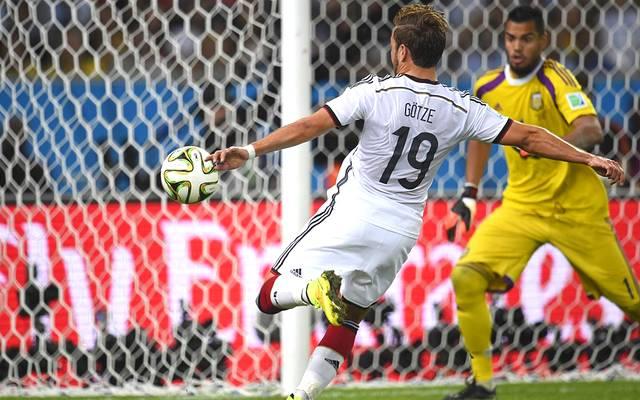 Mario Götze erzielte im WM-Finale 2014 gegen Argentinien das Siegtor für Deutschland