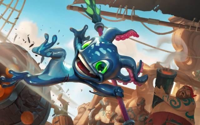 Fizz ist der erste Champion, der für die neue Legends-of-Runeterra-Region Bilgewasser von Riot Games veröffentlicht wurde.