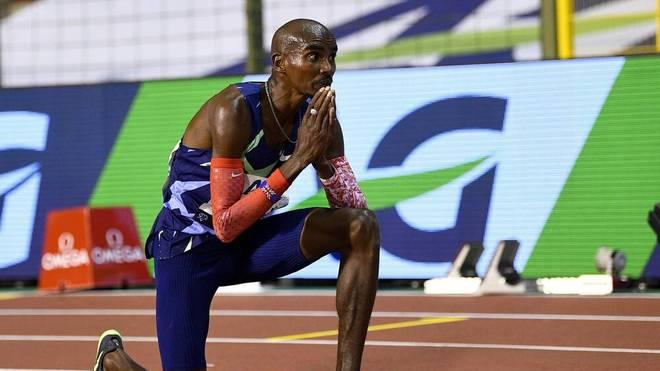 Mo Farah stellt in Brüssel einen Weltrekord auf