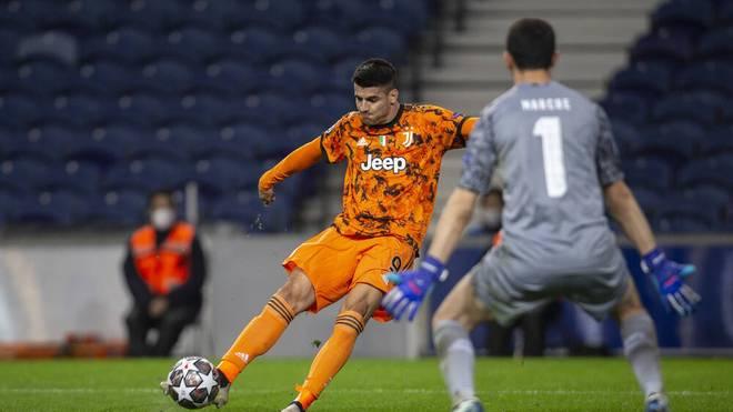 Alvaro Morata wurde in der zweiten Hälfte eingewechselt