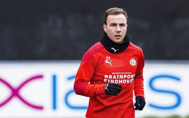 Mario Götze steht PSV weiter nicht zur Verfügung