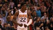 PHOENIX, ARIZONA - MARCH 04:  Deandre Ayton #22 of the Phoenix Suns reacts during the final moments of the NBA game against the Milwaukee Bucks at Talking Stick Resort Arena on March 04, 2019 in Phoenix, Arizona. The Suns defeated the Bucks 114-105.  (Photo by Christian Petersen/Getty Images)
